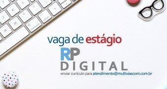 VAGA de estágio - RP Digital - cover blog